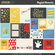 Magical Memories Journaling Cards
