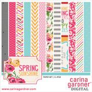 Spring Sunshine Paper Pack 1