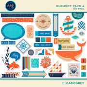 Adrift Element Pack 4