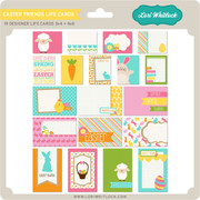 Easter Friends Life Cards