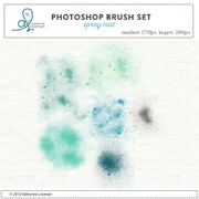 Mist Photoshop Brush set