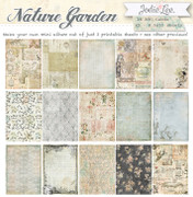 Nature Garden Printable Mini Album or ATC Cards!