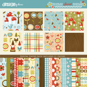 Gnome Sweet Gnome Paper Pack