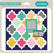 Patchwork Layout Template 3