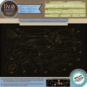 liv.edesigns Splengold Spladoodles Rub-Ons