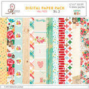 Hall Pass digital paper pack 2