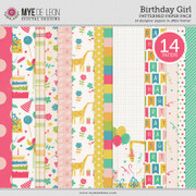 Birthday Girl | Patterned Papers