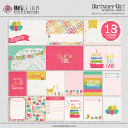 Birthday Girl | Journal Cards