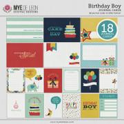 Birthday Boy | Journal Cards