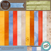 liv.edesigns Painted Papers Vol.1 - Perfectly artsy and beautiful!