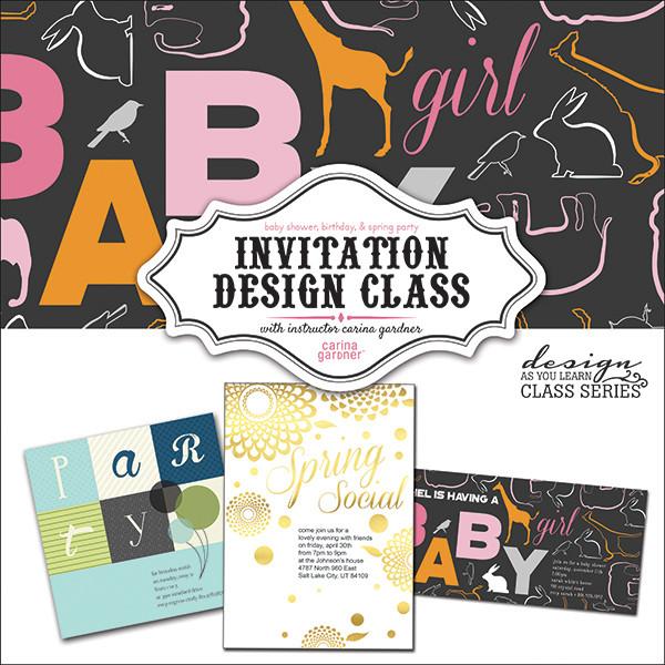 Invitation design class snap click supply co invitation design class price 2500 image 1 stopboris Choice Image