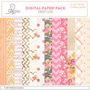 Sweet Love Paper Pack