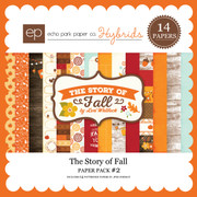 The Story of Fall Paper Pack 2