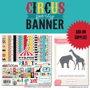 Circus Party Banner Supplies