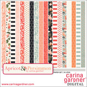 Apricot and Persimmon Paper Pack