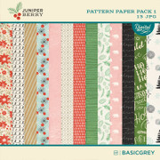 Juniper Berry Paper Pack 1