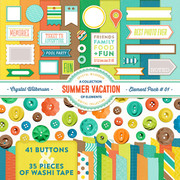 Summer Vacation - Element Pack