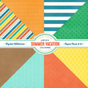 Summer Vacation - Paper Pack #1