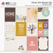 From the Roots Up | Journal Cards