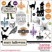 Scary Halloween—Elements