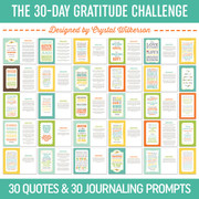 The Thirty-Day Gratitude Challenge
