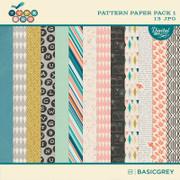 Typeset Paper Pack 1