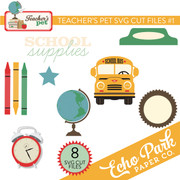 Teacher's Pet SVG Cut File #1
