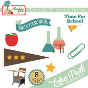 Teacher's Pet SVG Cut Files #3