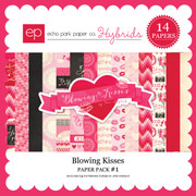 Blowing Kisses Paper Pack 1