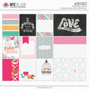 #XOXO | Journal Cards