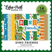 Dino  Friends Paper Pack #2