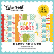 Happy Summer Paper Pack #2