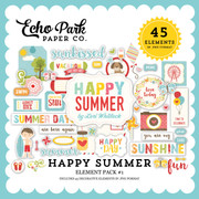 Happy Summer Element Pack #1