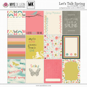 Let's Talk Spring | 3x4 Journal Cards