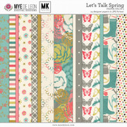 Let's Talk Spring | Paper Pack 2