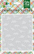 Dino Friends Embossing Folder - Dinosaurs