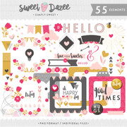 Simply Sweet Elements Pack