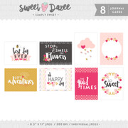 Simply Sweet Journal Cards