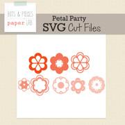 Petal Party Cut Files