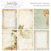 Butterfly Garden Pocket Journal Cards to Download and Print