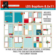 LDS Baptism QuickPages 8.5x11