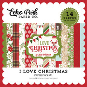 I Love Christmas Paper Pack #1