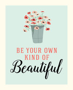 Be Beautiful Art Print - 8x10