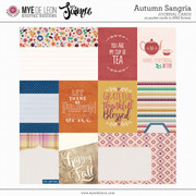 Autumn Sangria | Journal Cards