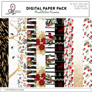 Mistletoe Kisses paper pack