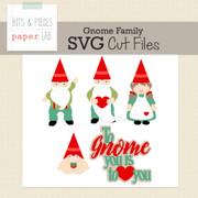 Gnome Family Cut Files