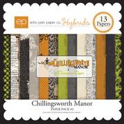 Chillingsworth Manor Paper Pack #2