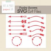 Funky Arrows Cut Files