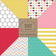 Hugs & Kisses (XOXO) - Paper Pack #1