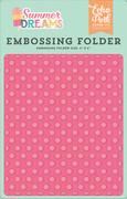 Summer Dreams Embossing Folder - Sunny Dot